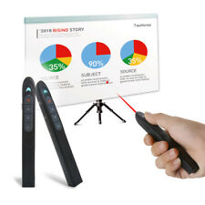 2.4GHz Wireless Presenter Remote Control Laser Office PowerPoint Rechargeable