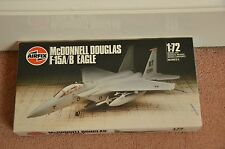 Vintage New Airfix No 05015 McDonnell Douglas F-15A/B Eagle 1:72 Model Kit