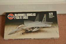 Vintage New Airfix No 05015 McDonnell Douglas F-15A/B Eagle 1:72 Model Kit