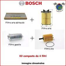 Kit 4 filtri tagliando Bosch LAND ROVER DISCOVERY III RANGE ROVER