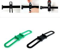 New Bicycle Bike Cycle Phone Front Rear Light Pump Tool Strap Holder UK