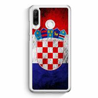 Kroatien Splash Flagge Hrvatska Croatia Huawei P30 Lite Hülle Motiv Design Kr...