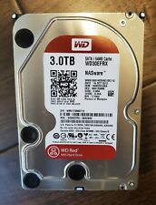 Western Digital WD30EFRX WD Red 3.0 TB Internal NAS Hard Drive Tested Perfect