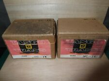 Pair HIrata TANGO NC-16 interstage transformer for tube amplifier RARE Excellent