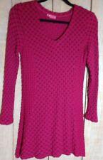 Stunning Tianello XS Extra Small Dress Geometric Pattern Christmas Colors EUC