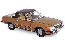 Modell Auto 1:18 Mercedes-Benz 300 SL 1986 Byzanzgold metallic Norev 183514