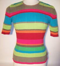 Gestreifte Damen-Pullover & -Strickware aus Baumwolle
