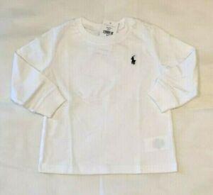 Ralph Lauren Baby Boys' Long Sleeve Cotton Jersey Top size 18/24 months