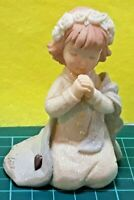 VINTAGE ENESCO FOUNDATIONS 1ST COMMUNION GIRL FIGURINE 2004 #0000420 COLLECTIBLE