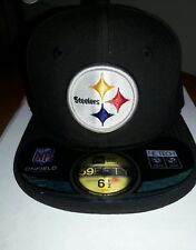 Pittsburgh Steelers NFL NEW ERA 59FIFTY Hat. Youth Size 6 1/2. New with Tags