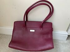 Ladies Burgandy Fiorelli Handbag