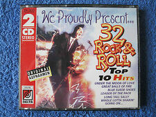 2 Musik CD We Proudly Present 32 Rock & Roll Top 10 Hits Blue Moon Donna
