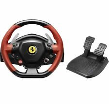 Thrustmaster Ferrari 458 Spider Steering Racing Wheel And Pedals Xbox One Used
