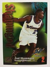 1997-98 Skybox Z-Force - God Shammgod - Washington Wizards - Rookie - #122
