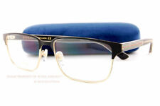 Gucci Eyeglass Frames GG 0383/o 004 Black/gold for Men Size 58
