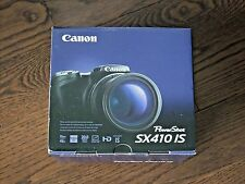 Brand New Canon PowerShot SX410 IS 20.0MP Black Digital Camera 40X Optical Zoom