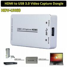HDMI to USB 3.0 Capture Card Device Dongle 1080P Video Audio Adapter Win Mac USA
