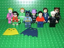 NEW Lego 76052 DC Super Heroes Classic TV Series Set of 9 minifigs    Batman!