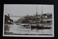 More details for postcard clifton suspension bridge bristol unposted bamforth & co. photo rp