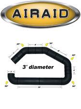 "AIRAID 100-300 3"" Diameter U-Build-It Custom Cold Air Intake Kit One-Piece Tube"