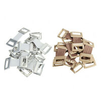 10xSpare Elastic Bandage WrapStretch Metal Clips Fixation Clamps Hooks BucklHNJ