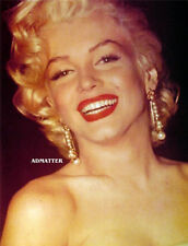 MARILYN MONROE PIN-UP POSTER AMAZING SMILE IN THIS SEXY LUSCIOUS RED LIPS PHOTO!