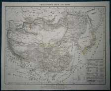 1848 Sohr Berghaus map CHINESE EMPIRE AND JAPAN (#74)