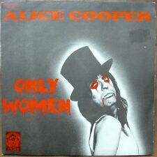 "ALICE COOPER Only Women 7"" RARE FRENCH-only PICTURE SLEEVE MINT!"