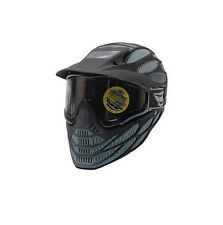 New JT Flex 8 Full Coverage Thermal Paintball Goggles Mask - Black / Gray