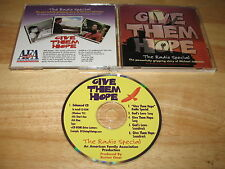 Give Them Hope The Michael Johnston Story Radio Special Audio CD 1997 AmericanFA