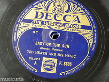 78rpm TED HEATH MUSIC east of the sun / not so quiet please