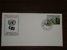 First Day Cover--Giant Clam--U.N. Postal Admin.--Endangered Species--1993