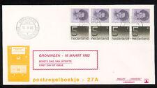 FDC met postzegelboekje PB 27, Philato, blanco/open