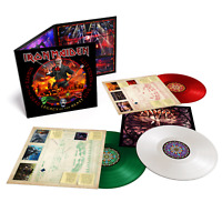 Iron Maiden - Nights Of The Dead Exclusive Red Green White Color 3x Vinyl LP Set