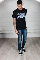 Official Asking Alexandria Script Skull Unisex T-Shirt Flag Eater Metal Hands