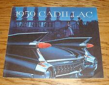 Original 1959 Cadillac Full Line Sales Brochure 59 Coupe Fleetwood