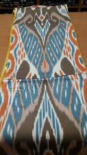Uzbek traditional cotton woven ikat fabric by meter. Tribal, ethnic fabric. IS27
