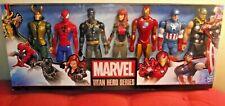 """Marvel Titan Hero Series 12"""" Action Figures 7 Pack  Inc Avengers Loki Figure"""