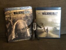 First Two Seasons Of Walking Dead Blu Ray + Michone Action Figure