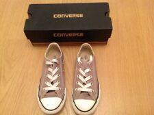 Converse kids in grey size 12
