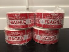 """2000 2x3"""" **Please Handle With Care--FRAGILE** Sticker (4-Rolls 500 Labels)"""