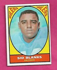 1967 TOPPS  # 51 OILERS SID BLANKS EX-MT CARD (INV# C3797)