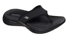 Skechers On-The-Go 600 Ladies Sporty Casual Toe Post Flip Flop Mule Sandals