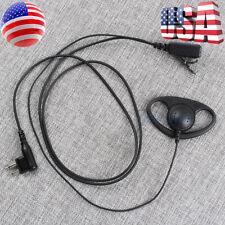 25x2-Pin PTT MIC Covert Acoustic Tube Earpiece Headset for Retevis H777RT1RT5 US