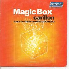 CD SINGLE 3 TITRES--MAGIC BOX--CARILLON + REMIX DE GIGI D'AGOSTINO--2000