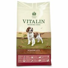 Vitalin Natural Dog Food Senior Lite Salmon & Potato 12kg Complete