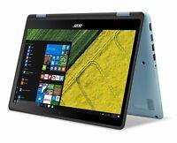 "Acer SP111-31-C1Q6 Spin 11.6"" FHD Touchscreen Celeron N3350 1.1GHz 4GB RAM 64GB"