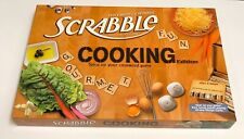 Scrabble Cooking Edition Crossword Game