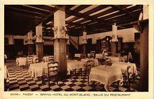 CPA  Passy -Grand Hotel du Mont-Blanc -Salle du Restaurant  (247930)