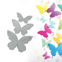 Butterfly Metal Cutting Dies Stencil DIY Embossing Scrapbooking Paper Card Decor